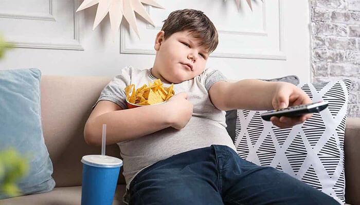 خطر افزایش وزن و بیتحرکی